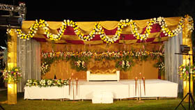 Wedding Stage Decorators in chandigarh, mohali
