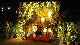 wedding flower decorators chandigarh, ropar, mohali