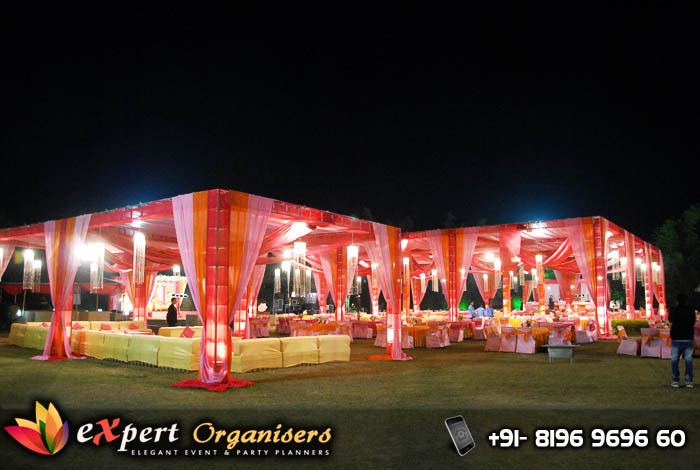 Wedding tent decorators chandigarh, mohali, ropar