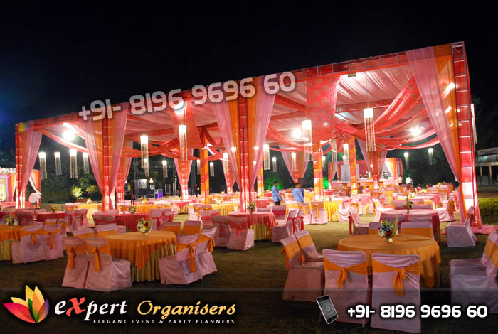 Wedding Tent Decorators Chandigarh, Ropar, Mohali