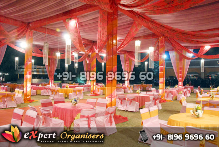 Tent Decorators Mohali, Ropar, Chandigarh
